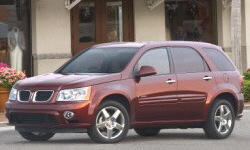 Pontiac Models at TrueDelta: 2009 Pontiac Torrent exterior