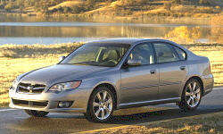2005 - 2009 Subaru Legacy Reliability by Generation