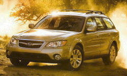 2005 - 2009 Subaru Outback Reliability by Generation
