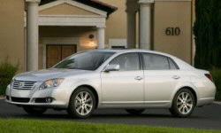 2005 - 2010 Toyota Avalon Reliability by Generation