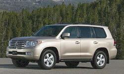 SUV Models at TrueDelta: 2011 Toyota Land Cruiser exterior