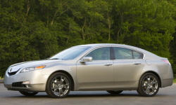 2009 - 2011 Acura TL Reliability by Generation