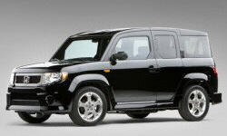 Honda Models at TrueDelta: 2011 Honda Element exterior