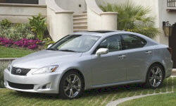 Convertible Models at TrueDelta: 2010 Lexus IS exterior
