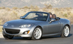 Convertible Models at TrueDelta: 2012 Mazda MX-5 Miata exterior