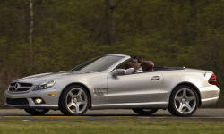 Convertible Models at TrueDelta: 2012 Mercedes-Benz SL exterior