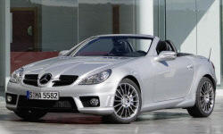Convertible Models at TrueDelta: 2010 Mercedes-Benz SLK exterior