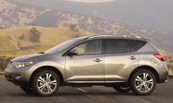 2009 Nissan Murano Transmission Problems and Repair Descriptions at