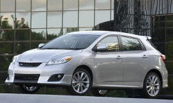 2009 - 2013 Toyota Matrix Reliability by Generation