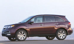 2010 - 2013 Acura MDX Reliability by Generation