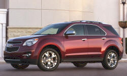 2012 Chevrolet Equinox body Problems