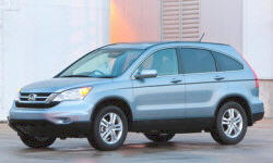 Honda Models at TrueDelta: 2011 Honda CR-V exterior