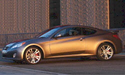 Coupe Models at TrueDelta: 2012 Hyundai Genesis Coupe exterior