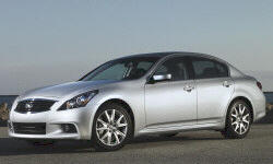 2007 - 2010 Infiniti G Reliability by Generation