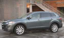 Mazda Models at TrueDelta: 2012 Mazda CX-9 exterior