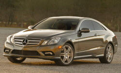 Coupe Models at TrueDelta: 2013 Mercedes-Benz E-Class (2-door) exterior