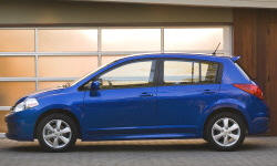Hatch Models at TrueDelta: 2011 Nissan Versa exterior