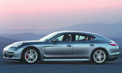 Hatch Models at TrueDelta: 2013 Porsche Panamera exterior