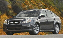 2010 - 2012 Subaru Legacy Reliability by Generation