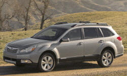 2010 - 2012 Subaru Outback Reliability by Generation