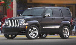 Jeep Liberty suspension Problems