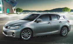 Hatch Models at TrueDelta: 2013 Lexus CT exterior