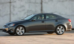 2006 - 2013 Lexus IS Reliability by Generation