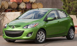 Hatch Models at TrueDelta: 2014 Mazda Mazda2 exterior
