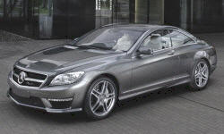 Coupe Models at TrueDelta: 2014 Mercedes-Benz CL-Class exterior