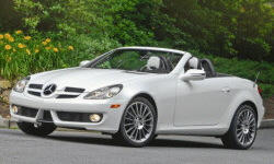 Convertible Models at TrueDelta: 2011 Mercedes-Benz SLK exterior