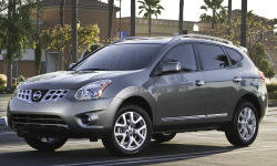 Nissan Models at TrueDelta: 2013 Nissan Rogue exterior