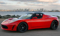 Coupe Models at TrueDelta: 2011 Tesla Roadster exterior