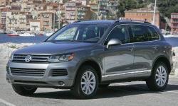 2012 Volkswagen Touareg  Problems