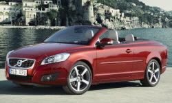 Convertible Models at TrueDelta: 2013 Volvo C70 exterior