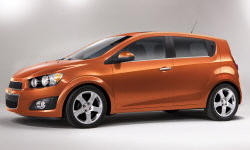 Hatch Models at TrueDelta: 2016 Chevrolet Sonic exterior