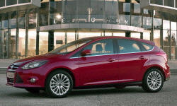 Hatch Models at TrueDelta: 2012 Ford Focus exterior