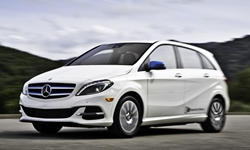Hatch Models at TrueDelta: 2017 Mercedes-Benz B-Class exterior