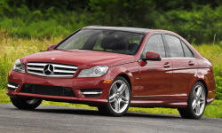 Mercedes-Benz C-Class brake Problems