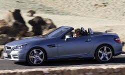 Convertible Models at TrueDelta: 2016 Mercedes-Benz SLK exterior