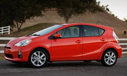 Hatch Models at TrueDelta: 2014 Toyota Prius c exterior