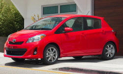 Hatch Models at TrueDelta: 2014 Toyota Yaris exterior