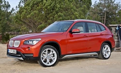 BMW Models at TrueDelta: 2015 BMW X1 exterior