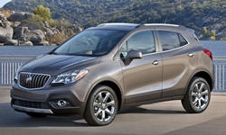 SUV Models at TrueDelta: 2016 Buick Encore exterior