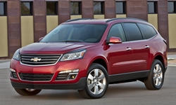 2013 - 2017 Chevrolet Traverse Reliability by Generation