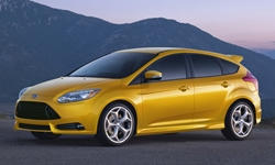 Hatch Models at TrueDelta: 2014 Ford Focus exterior