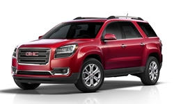 2013 - 2016 GMC Acadia Reliability by Generation