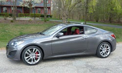 Nissan 350Z / 370Z vs. Hyundai Genesis Coupe MPG: photograph by