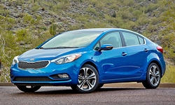 Coupe Models at TrueDelta: 2016 Kia Forte exterior