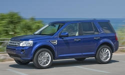 SUV Models at TrueDelta: 2015 Land Rover LR2 exterior