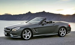 Convertible Models at TrueDelta: 2016 Mercedes-Benz SL exterior